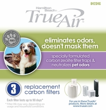 Hamilton Beach 04234G Long Life Air Cleaner Pet Odor Filter (3 pack)