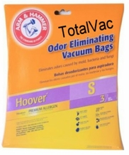Hoover Type S Vacuum Cleaner Bags 62607 3 pack