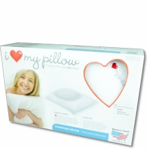 I Love My Pillow- Traditional Foam Pillow