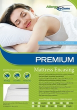 Pristine PREMIUM Dust Mite & Allergen Proof Mattress Encasing- California King