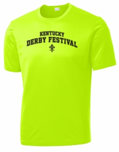 Collegiate Performance T-shirt Neon Yellow