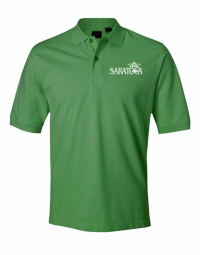 2013 Saratoga Izod Silk Wash Polo Yacht Green
