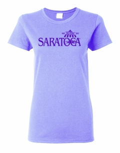 2013 Saratoga Ladies T-shirt Violet