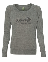2014 Event Logo Alternative Ladies' Eco-Jersey Slouchy Pullover - Eco Grey