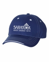 2014 Event Logo Embroidered Sportsman Tri-Color Cap - Royal