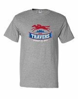 2014 Travers Stakes Adult T-Shirt - Athletic Heather