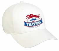 2014 Travers Stakes Brushed Cotton Twill Cap - Khaki