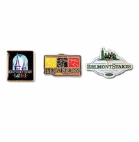 2015 Derby-Preakness-Belmont Lapel Pin Set