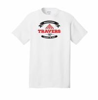 2015 Travers Stakes Event Logo Adult T-Shirt White