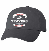 2015 Travers Stakes Event Logo Cap Charcoal
