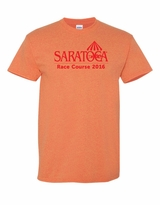 2016 Adult T Shirt, Heather Orange