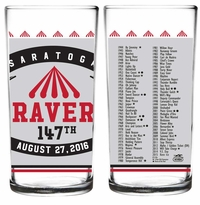 2016 Travers Stakes Official Collector's Glass 2 pack