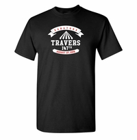 2016 Travers Stakes t-Shirt, Black