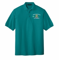 Adult Silks Touch Polo, Teal