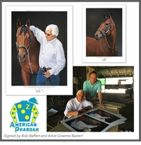 American Pharoah, Bob Baffert and Graeme Baxter Prints