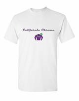 California Chrome - Chrome Design T-Shirt - White