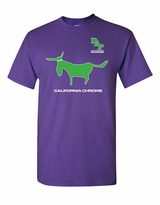 California Chrome D.A.P. Adult T-Shirt - Purple