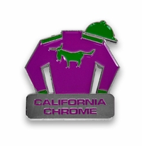 California Chrome Lapel Pin