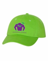 California Chrome Silks Cap Bright Green