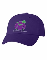 California Chrome Silks Cap Purple