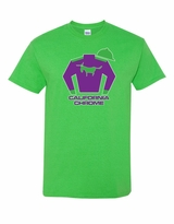 California Chrome Silks T-Shirt - Electric Green