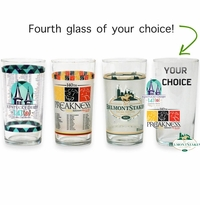 2015 Derby Preakness Belmont Glass Set