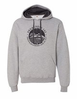 Distressed Seal Hooded Sweatshirt Athletic Heather