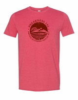 Distressed Seal T-Shirt Heather Red