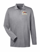 Event Logo 1/3 Zip Pullover Charcoal Heather