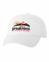 Event Logo Garment Washed Cotton Twill Cap White