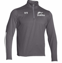 Event Logo Under Armour 1/4 Zip Qualifier Pullover Graphite/White