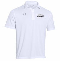 Event Logo Under Armour Team Rival Performance Polo White
