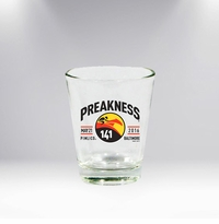 Preakness 141 Clear Shot Glass