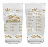 Preakness 142 Gold Glass