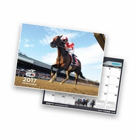 The New York Racing Association's commemorative 2017 Racing Calendar