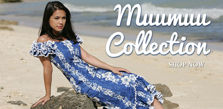 the Hawaiian muumuu dress collection