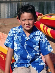 Junior Boy's Hawaiian Shirts