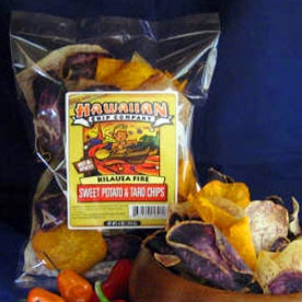 Kilauea Fire Sweet Potato and Taro Chip Mix