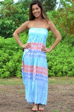 Lani Long Dress Blue
