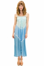 Lani Long Dress in Abstract