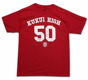 Men's Kukui High Red Tee Shirt