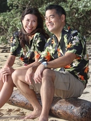 Paradise Valley Couples Hawaiian Dresses & Shirts