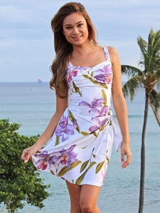 Sarong Hawaiian Wrap Dresses