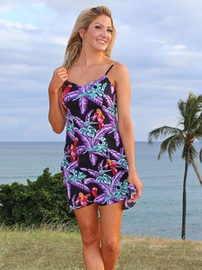 Short Spaghetti Hawaiian Sundresses