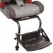 Thomashilfen Long Depth Recaro Monza Reha Booster-Type Car Seat Footrest - click here to enlarge