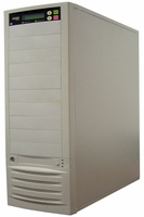 * Acard (ARS-2039A) 11 Bay Duplicator Barebone Combo - Support 1 to 9 Target, IDE-to-IDE DVD/CD Duplication (Beige)
