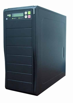 * Acard (ARS2037P) 9Bay DVD/CD Duplicator Barebone Combo -  1 to 7 Target, Support IDE-to-IDE DVD/CD Duplication (Black)