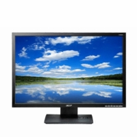 Acer (ET.EV3WP.E04) V223W Ejbmd 22 inch Widescreen 50000:1 5ms DVI (HDCP) LCD Monitor, w/ Speakers (Black)