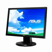 Asus (VW193DR) LCD 19inch Wide 16:10 1440x900 300cd/m2 5ms Black Retail