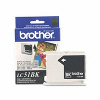 Brother (BRT-LC51BK)  LC1000BK, 7-911774  Inkjet Cartridge, Black